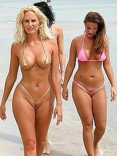 ELSA: Hot bikini butts penetrated