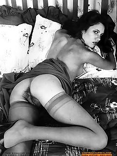 vintage hairy frauen porno fotos